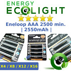 4/8/12/16x Panasonic eneloop R6 AA 2500 mAh Rechargeable Batteries ready to use