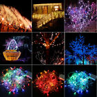 10M 100LED RGB Fairy String Lights Party Christmas Tree Lamp Xmas Waterproof