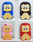 silicone Monkey Rubber Soft phone Case Cover for iphone 5/5s And 6/6s Device