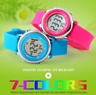 Original Color Digital Kids Waterproof Watch with Alarm by Montic
