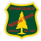 Stanislaus National Forest Sticker R3313 California You Choose Size