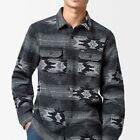 NEW HURLEY MENS X PENDLETON FLANNEL LONG SLEEVE BUTTON UP...