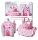 Baby's First Tooth And Curl Keepsake Safekeeping With Style Princess/Racer