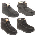 Ladies Slipper Boots Womens Fur Lined Winter Warm Thermal Ankle Bootie Shoes