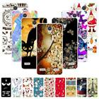 """For ZTE Blade A520 BA520 5.0"""" Christmas Soft TPU Case Cover 2018 New Year Strips"""