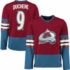 Reebok Matt Duchene Colorado Avalanche Burgundy Edge Long Sleeve Jersey T Shirt