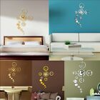 Modern Art Removable Wall Clock DIY Decal Vinyl 3D Wall Sticker Home Decor HS