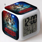 Stranger Things LED Color Changing Alarm Clock with Colorful Flash Light