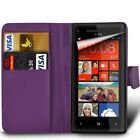 Nokia (Various Models) - Card Slot Book Style Wallet Case Cover