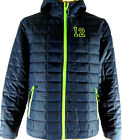Seattle Seahawks inspired 12 Go Hawks Packable Insulated Jacket Navy Lime Hooded $42.0 USD on eBay