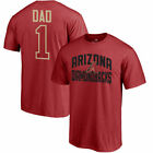 Arizona Diamondbacks Red #1 Dad T-Shirt - MLB
