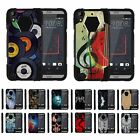 For HTC Desire 530 / 630 / 550 Dual Layer Hybrid Kickstand Fitted Case