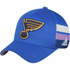 adidas St Louis Blues Blue Hockey Fights Cancer Flex Hat NHL