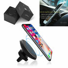 360° Magnetic Wireless Qi Cell Phone Charger Air Vent Car Charging Mount Holder