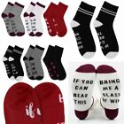 2Pairs Xmas Unisex Women Letter Printed If You Can Read This Bring Me Wine Socks