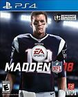 Madden NFL 18 (Sony PlayStation 4, 2017) Brand New Factory Sealed