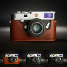 Genuine Real Leather Half Camera Case Bag Cover for Leica M10