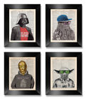 STAR WARS CHARACTER PRINT Christmas Gift Present Fathers Day Birthday Husband £5.0 GBP