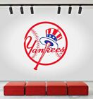 New York Yankees Logo Wall Decal Sports Sticker Baseball Decor Vinyl MLB CG096 on Ebay
