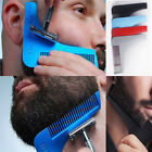 Beard Shaping Tool Hair Styling Shaper Symmetry Perfect Lines Comb And Template