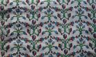 Cotton Voile Fabric Natural Crafting Hand Block Print fabric By the yard V-28