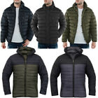 Padded Quilted Puffer Jacket  Mens Size