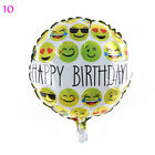 5/10pcs emoji Foil Balloons Expression Helium Balloons Party Decorations New Hot