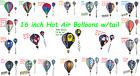 16 inch Hot Air Balloon Wind Spinners by Premier Design