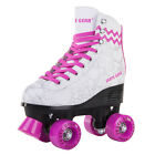 Cal 7 Roller Skates Skating Graphic Faux Leather Boot PVC Frame