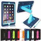 Shockproof Case for Apple iPad 2 3 4 5 6 Air Mini Heavy Duty Cover W/ Hard Stand