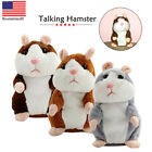 Cute Talking Nod Hamster Mouse Record Chat Mimicry Pet Plush Toy Gift New US