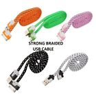 Braided Lot Sync Usb Charging Charger Cable Cord For Iphone 4 4s Iphone 3 3g 3gs