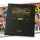 Personalised West Bromwich Albion Newspaper Football Book Fan Memorabilia Gift
