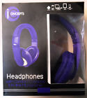 Iconcepts Headphones Over Ear with Comfort Cushions & In-line Mic / 5 Colors