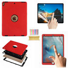Hybrid Rubber Shockproof Protective Back Case Cover Fr Apple iPad 5th Generation