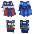 BOYS KIDS 3 PACK TRUNKS BOXER SHORTS UNDERWEAR COTTON AGE 5-12 YEARS NEW