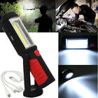COB LED Magnetic Work Stand Hanging Hook Light Flashlight Super Bright Torch NEW