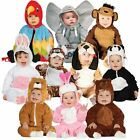 Kids Baby Toddler Infant Animal Boys Girls Zoo Jungle Fancy Dress Costume Outfit
