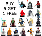 Star Wars Mini figures Custom Made Fit Lego Jedi - Loads of characters to choose £2.99 GBP