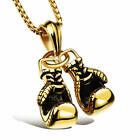 Trendy Men's Jewelry Boxing Glove Pendant Chain Cool Style Necklace for Men