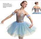 "Внешний вид - ""Glisten"" Lt. Blue Curtain Call Ballet Tutu Romatic Dress Cinderella Nutcracker"