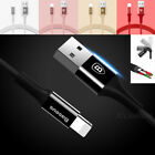 3ft Baseus MFi Cable Apple Certified Lightning USB Charger f iPhone X 8 7 6 Plus