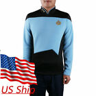 Star Trek TNG Uniform Cosplay Star Trek Blue Shirt Starfleet Command Uniform Pin on eBay
