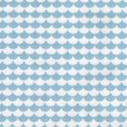 Pastel Collection Mod Scallops - Sky Blue  - Ex Wide 100% Cotton Fabric