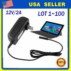 LOT Power Adapter Charger 12V/2A for Microsoft Surface 10.6 RT Windows 8 Tab HT