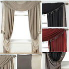 Faux Silk Reversible Curtains (pair Of) - Now £10, £15 & £20 To Clear