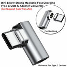 4.3A Magnetic Elbow Fast Charge Type C USB-C Converter Adapter For Macbook Pro