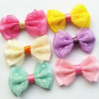 bows decoration - Lace Satin Ribbon Bow Sewing Diy Craft Flower Home Party Wedding Decoration