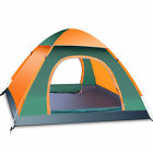 Waterproof 3-4 Person Camping Tent Automatic Pop Up Quick Shelter Outdoor Hiking