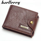 Mens Genuine Leather Wallet Luxury Quality ID Credit Card Holder Purse Coin bags
